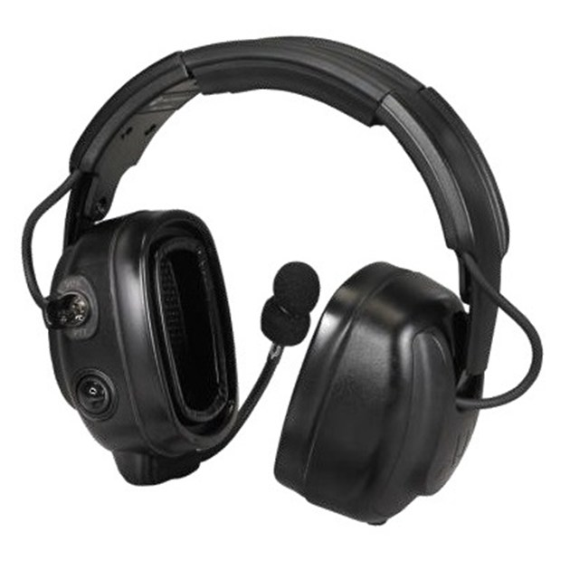OVER THE HEAD H/DUTY HEADSET/TIA, SLIM