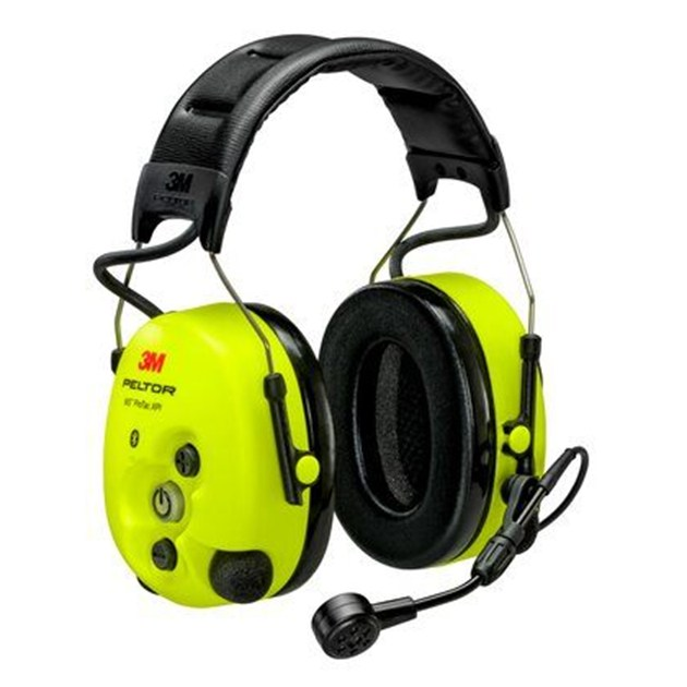 3M ™ PELTOR ™ WS ™ ProTac XPI level dependent Bluetooth® Headset, headband, FLX2, yellow, MT15H7AWS6-111